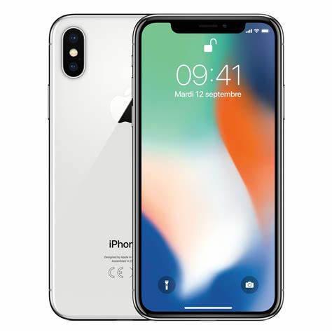 IPHONE X 64GB NERO/BIANCO RICONDIZIONATO A+